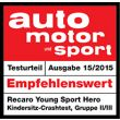 Auto, Motor and Sport test 2015
