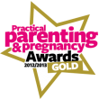 Practical Parenting & Pregnancy Award (2012/2013, gold)