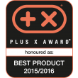 Plus X Award (Best Product 2015/2016)
