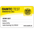 ÖAMTC Test (2013, very good)