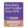 Best Baby & Toddler Gear Award (2015, bronze)