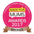 MadeForMums Award (2017, bronze)