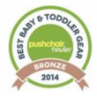 Best Baby & Toddler Gear Award (2014, bronze)