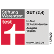 Stiftung Warentest (2015,good)