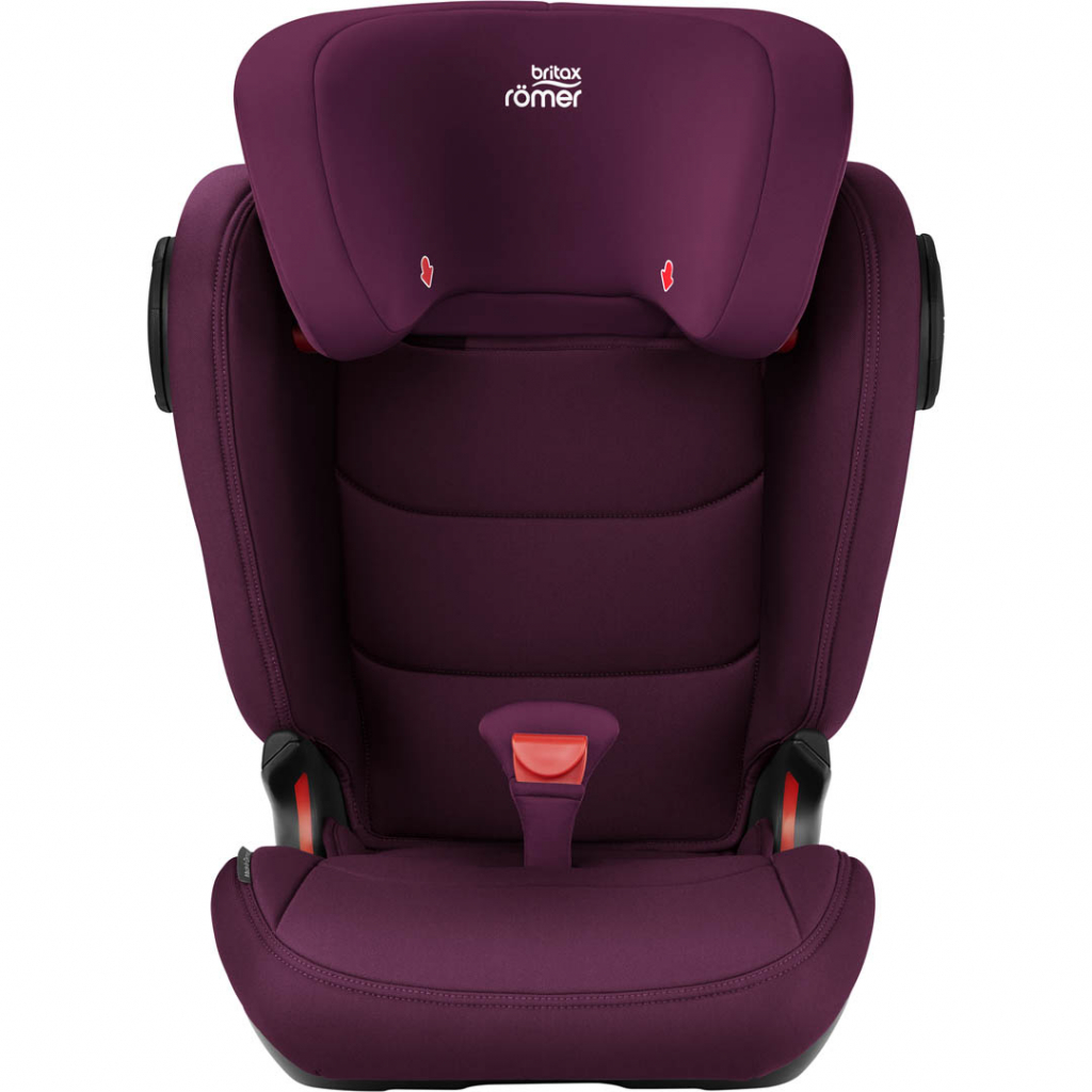 britax romer kidfix iii m burgundy red. Black Bedroom Furniture Sets. Home Design Ideas