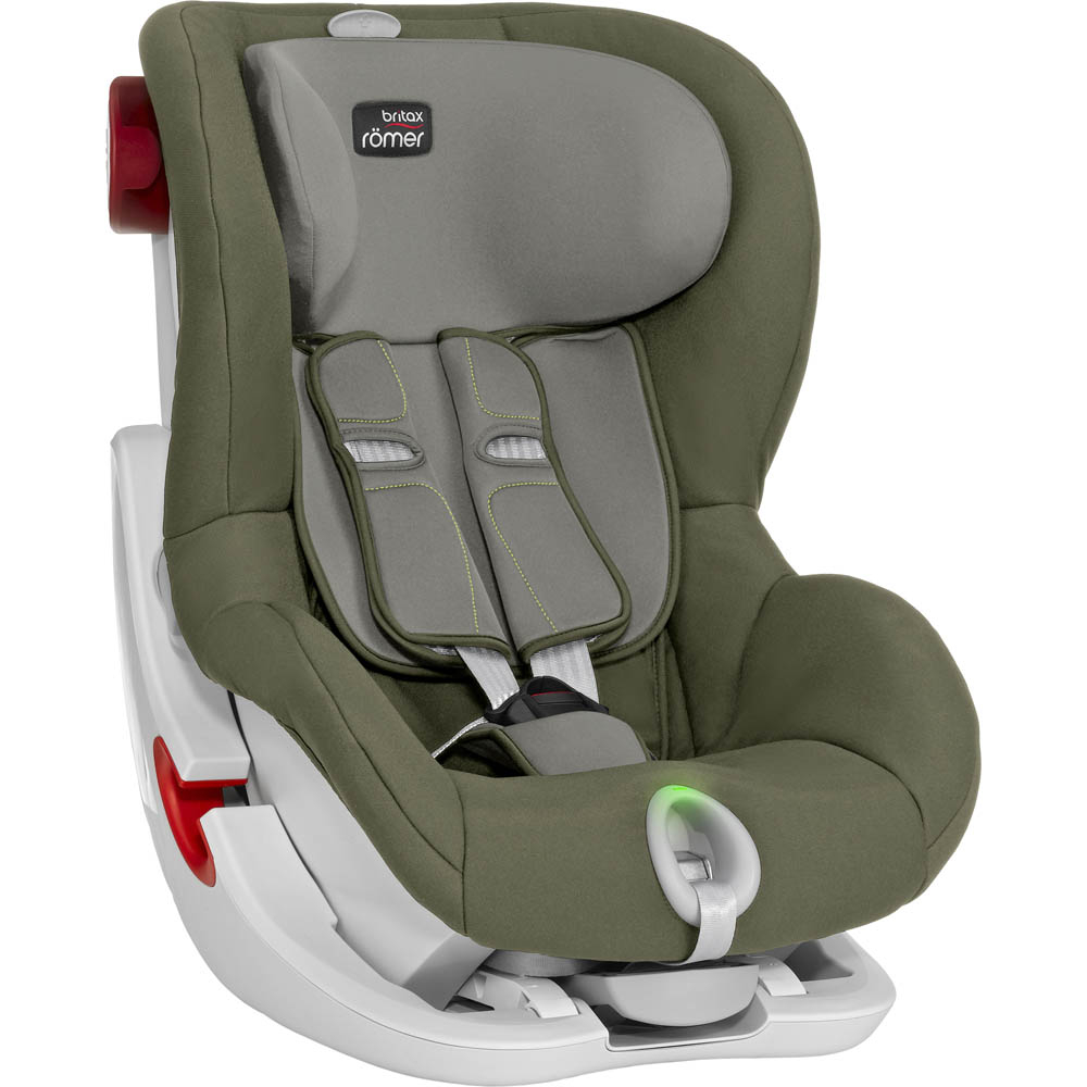 britax romer king ii ls olive green. Black Bedroom Furniture Sets. Home Design Ideas