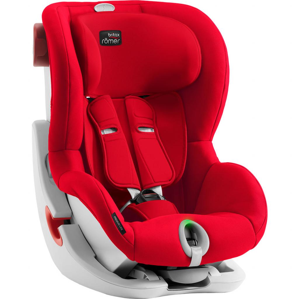 britax romer king ii ls fire red. Black Bedroom Furniture Sets. Home Design Ideas
