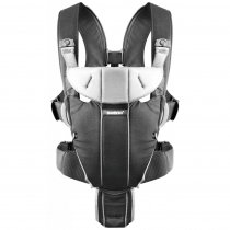 Рюкзак-кенгуру BB®Baby  Carrier Miracle (Black/Silver, Cotton Mix)