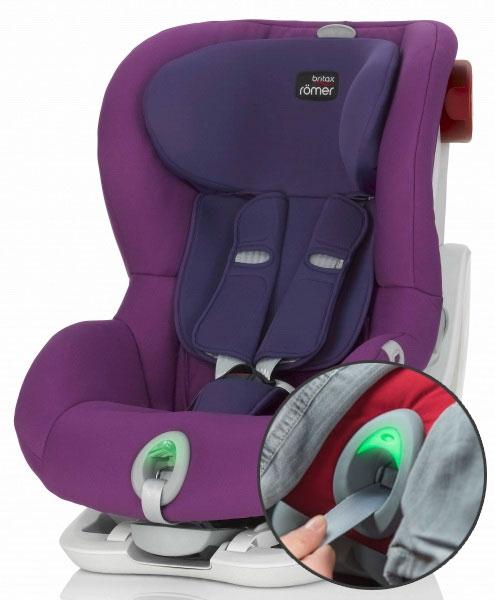 britax romer king ii ats mineral purple. Black Bedroom Furniture Sets. Home Design Ideas