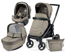 Коляска Peg Perego Elite Cream  (3 в 1)