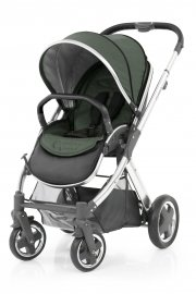 Прогулочная коляска BabyStyle Oyster 2 Olive (Green / Mirror Black)