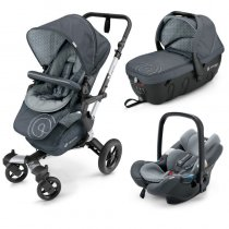 Универсальна коляска 3 в 1 Concord Neo Travel Set (Steel Grey)