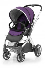 Прогулочная коляска BabyStyle Oyster 2 (Wild Purple / Mirror Black)