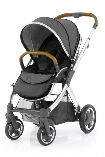 Прогулочная коляска BabyStyle Oyster 2 (Tungsten Grey / Mirror Tan)