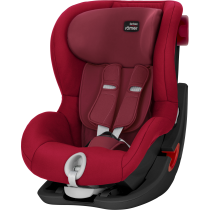 Автокресло BRITAX-ROMER KING II BLACK SERIES (Flame Red)