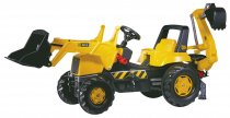 Экскаватор Rolly Toys rollyJunior JCB (желто-черный)