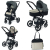Универсальна коляска 3 в 1 Foppa Pedretti 3Chic Travel System (Grey)