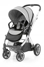 Прогулочная коляска BabyStyle Oyster 2 (Pure Silver / Mirror Black)