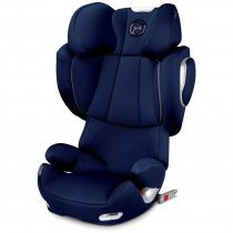 Автокресло Cybex Solution Q3-fix (Midnight Blue-navy blue PU2)