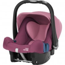Автокресло BRITAX-ROMER BABY-SAFE PLUS SHR II (Wine Rose)