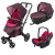 Универсальна коляска 3 в 1 Concord Neo Travel Set (Rose Pink)