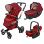 Универсальна коляска 3 в 1 Concord Neo Travel Set (Tomato Red)