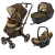 Универсальна коляска 3 в 1 Concord Neo Travel Set (Walnut Brown)