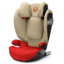 Автокресло Cybex Solution S-fix (Autumn Gold-burnt red PU2)