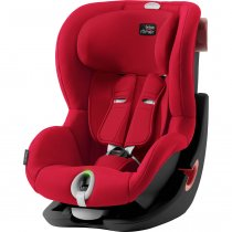 Автокресло BRITAX ROMER KING II LS BLACK SERIES (Fire Red)
