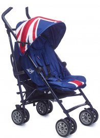 Прогулочная коляска Easy Walker MINI XL (Union Jack Classic)