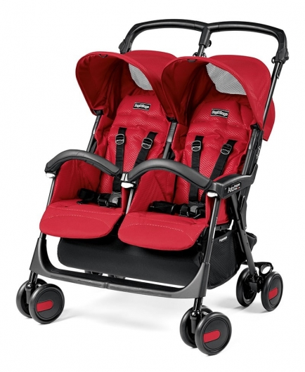Коляска Peg-Perego Aria Shopper Twin Classico (Mod Red)