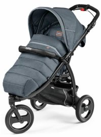 Прогулочная коляска PEG-PEREGO Book Cross Completo (Blue denim)