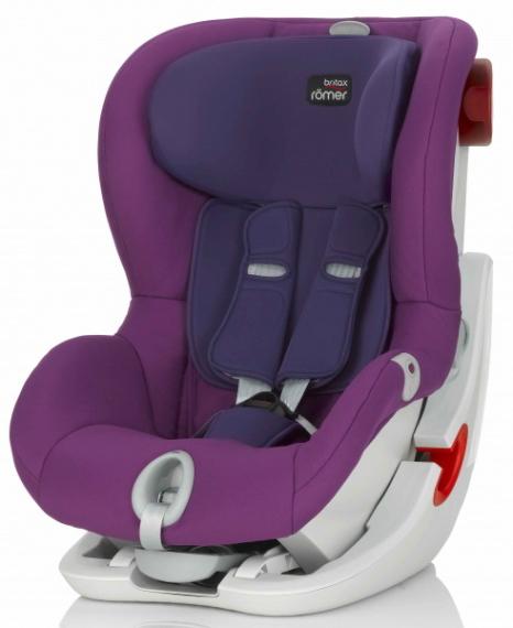 britax romer king ii ls mineral purple. Black Bedroom Furniture Sets. Home Design Ideas