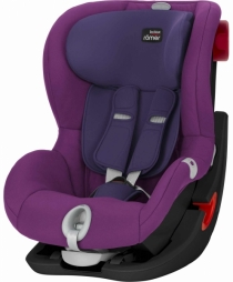 Автокресло BRITAX ROMER KING II LS (Black Series) (Mineral Purple)