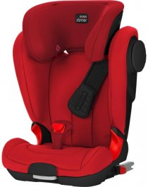 Автокресло BRITAX ROMER KIDFIX II XP SICT (Black Series) (Flame Red)