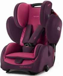 Автокресло RECARO Young Sport HERO 2017 (Power Berry)