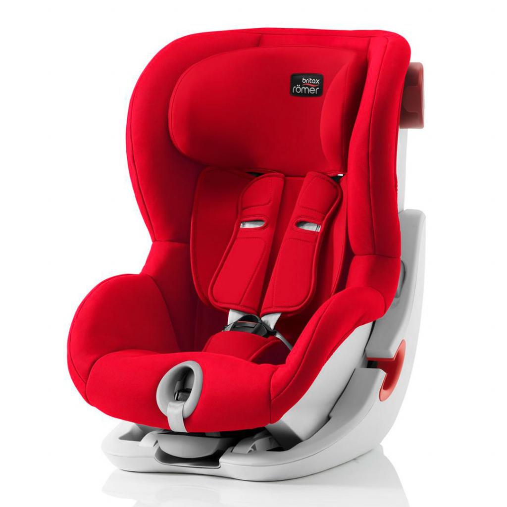 britax romer king ii fire red. Black Bedroom Furniture Sets. Home Design Ideas